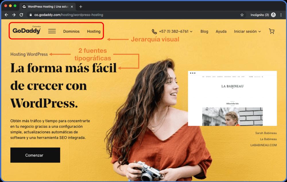 Aplica pautas de diseño a tu página web DIY