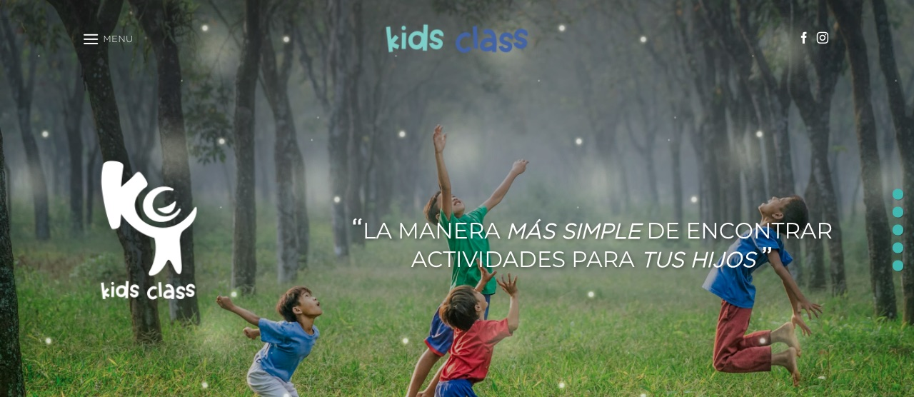Kids Class: ejemplo de diseño web para pymes